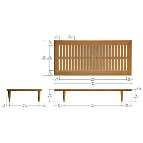 Saloma Daybed - Picture C