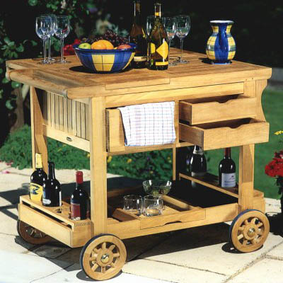 Westminster Grand Drink Trolley - Picture A