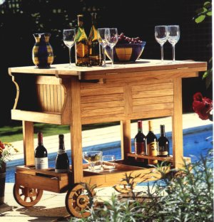 Westminster Grand Drink Trolley - Picture C