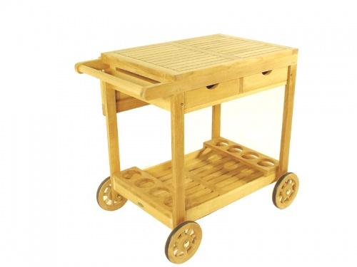 Alicante Teak Drink Trolley - Picture B