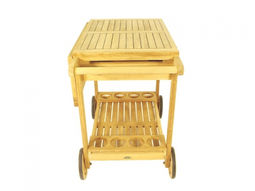 Alicante Teak Drink Trolley - Picture F