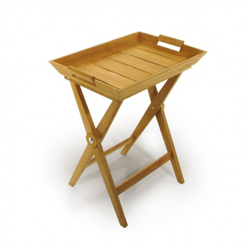 indoor teak serving stands