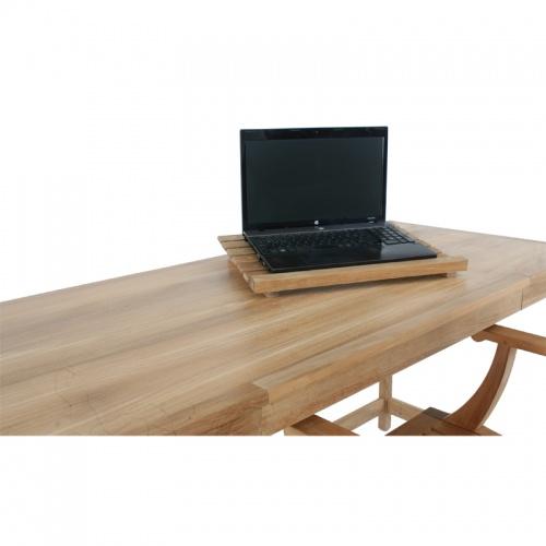 teak laptop tray tables