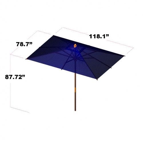 Umbrella 78 W x 118 L - Picture C