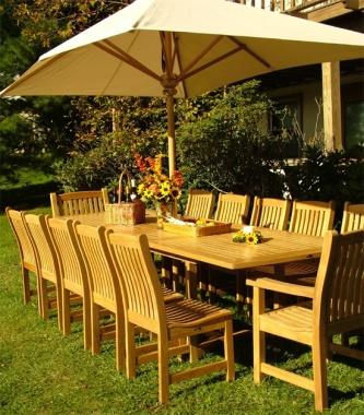 Teak Wood Market Umbrellas Westminster Teak Furniture