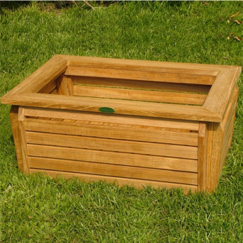 Westminster Rectangular Planter 20x28 - Picture D