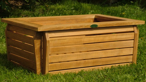 Westminster Rectangular Planter 20x28 - Picture E