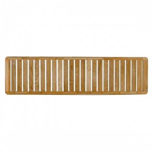 Teak Planter Bench Seat Panel - Picture A