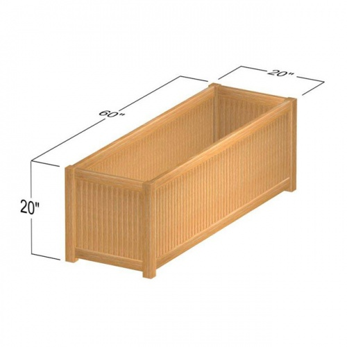 Westminster Rectangular Planter 20x60 - Picture E