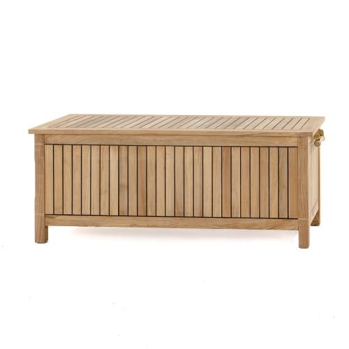 teak storage chests
