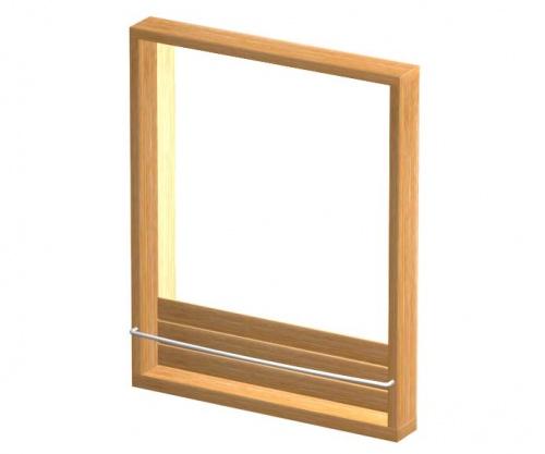Teak Mirror - Picture A