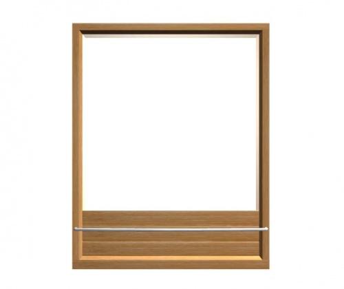 Teak Mirror - Picture B
