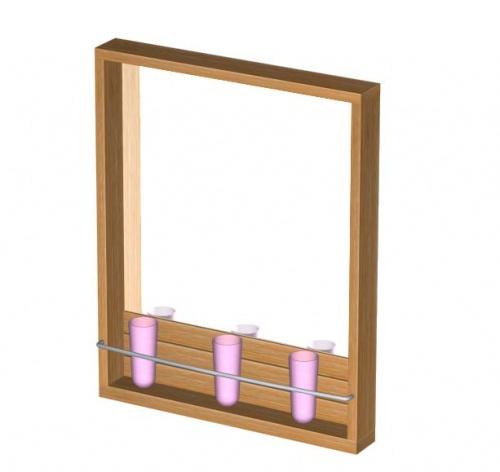Teak Mirror - Picture C