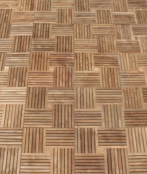 large teak doormats