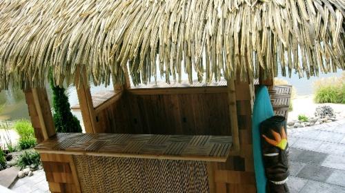 Parquet  Wood Deck Teak Bath Mat - Picture H