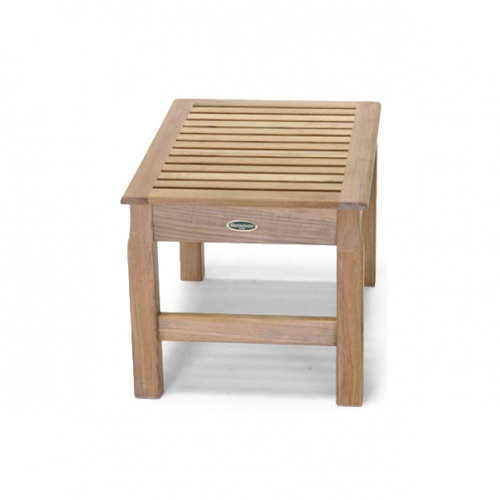 Westminster Teak Waterproof Bath and Spa Stool - Picture B