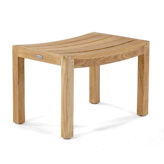 Teak Shower Benches, Stools & Chairs - Westminster Teak Furniture