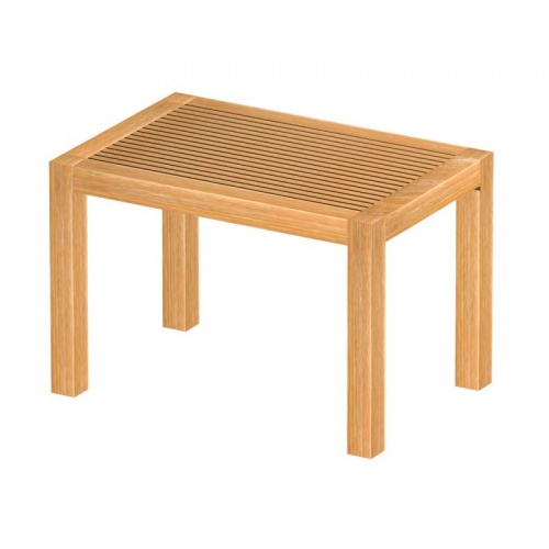 Teak Spa Stool - Picture D