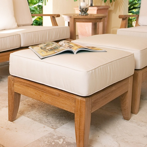 Laguna Ottoman (Refurbished) - Picture A