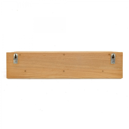 teak bath shelf