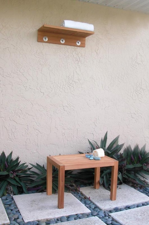 Spa Towel Rack - Picture C