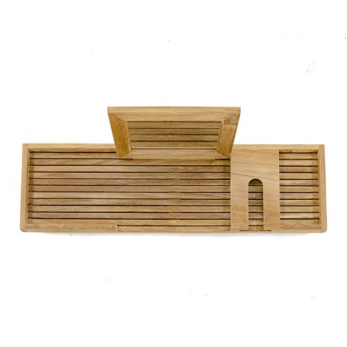 teak shower trays