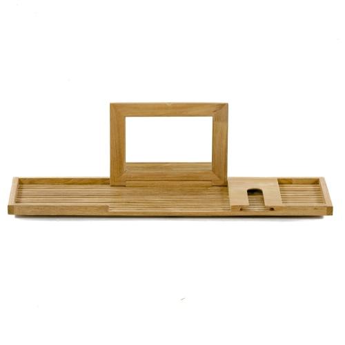 teak spa trays