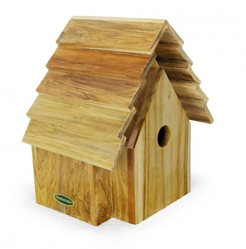 teak bird houses