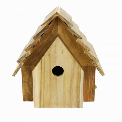 outdoor teak bird houses