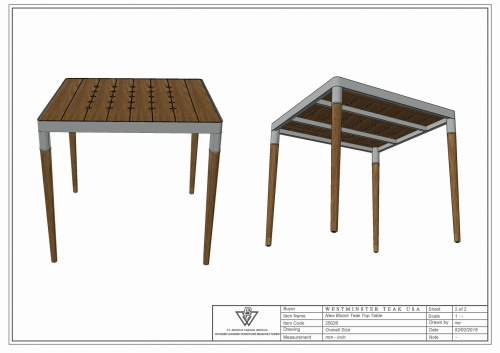 Bloom Table - Picture H