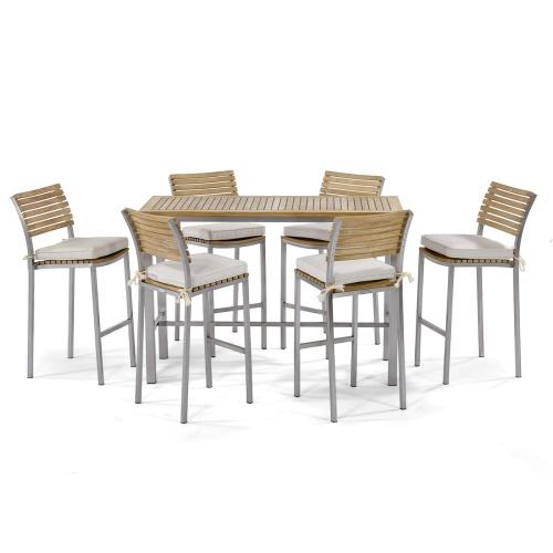 Rectangular High Bar Tables