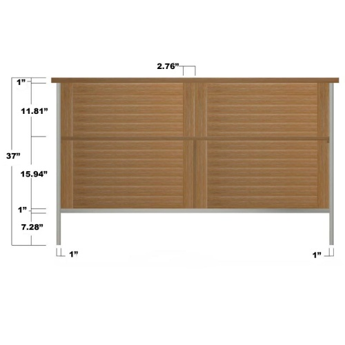 Vogue Outdoor Patio Sideboard Refurbished - Picture E