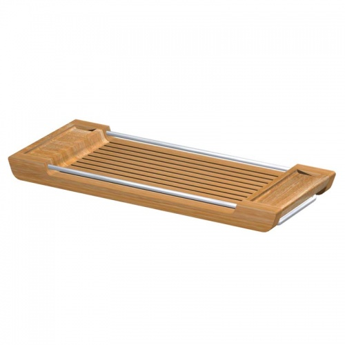 Teak Spa Tub Tray - Picture B