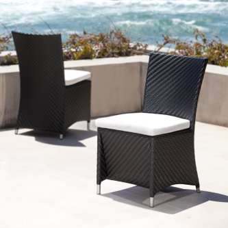 Valencia Black Side Chair