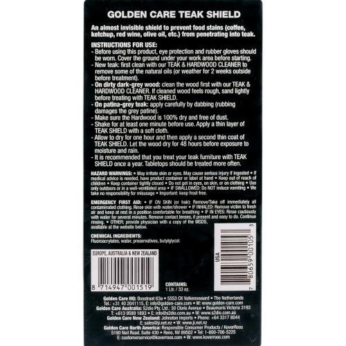 Golden Care Teak Shield - Picture B