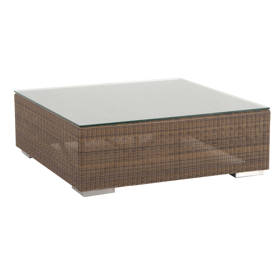 Teak Ottoman Coffee Table: Malaga Ottoman/Coffee Table