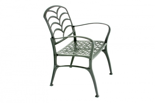 Grass Aluminum Armchair - Picture A