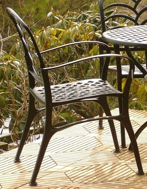 Grass Aluminum Armchair - Picture B
