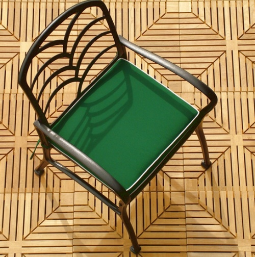 Grass Aluminum Armchair - Picture D