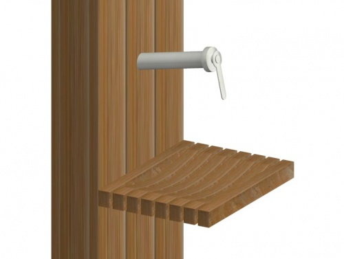 Teak Spa Shower - Picture E
