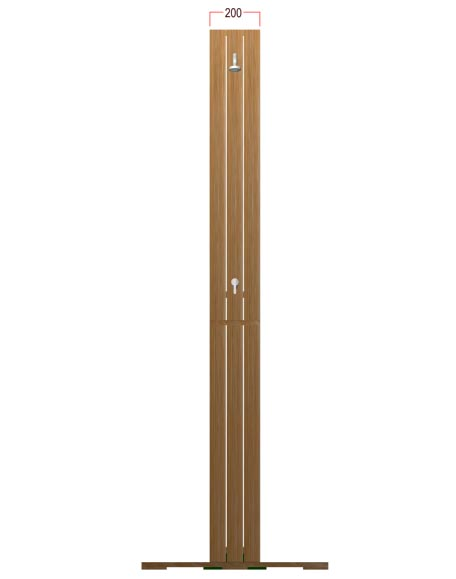 Teak Spa Shower - Picture G
