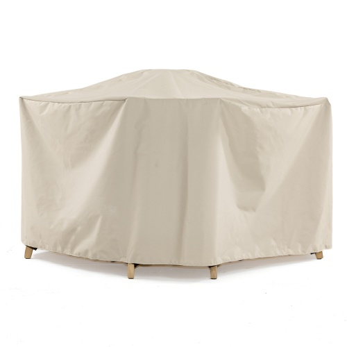 5pc Hyatt-Barbuda Patio Set Cover - Picture A