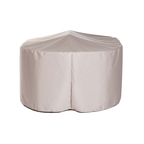 Veranda 4 ft Round Side Chair Set Cover - Picture A