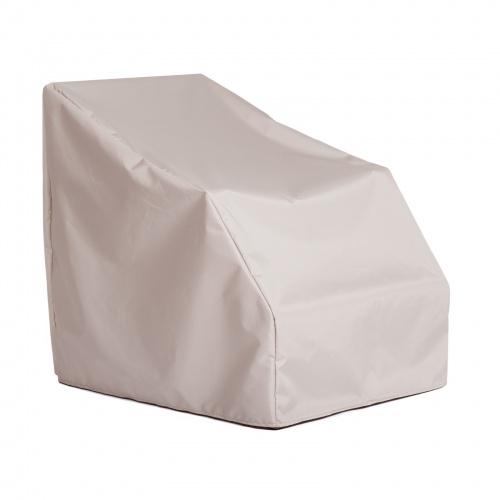 38H x 38W x 28L Slipper Chair Cover - Picture A