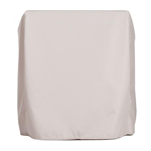 38H x 38W x 28L Slipper Chair Cover - Picture B