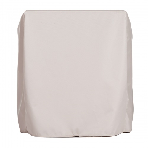 39.75 w x 39.75 d x 26.5 h Slipper Chair Cover - Picture B