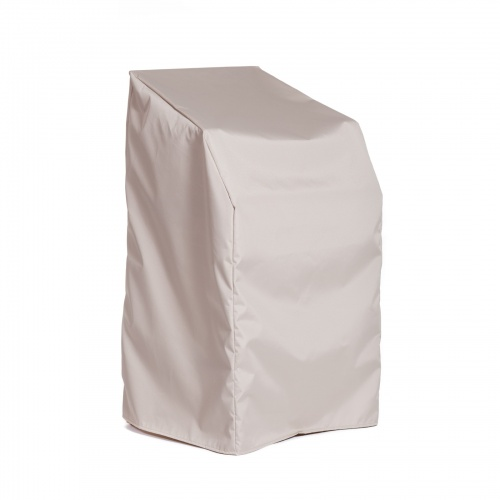Laguna Teak Counter Stool Cover - Picture A