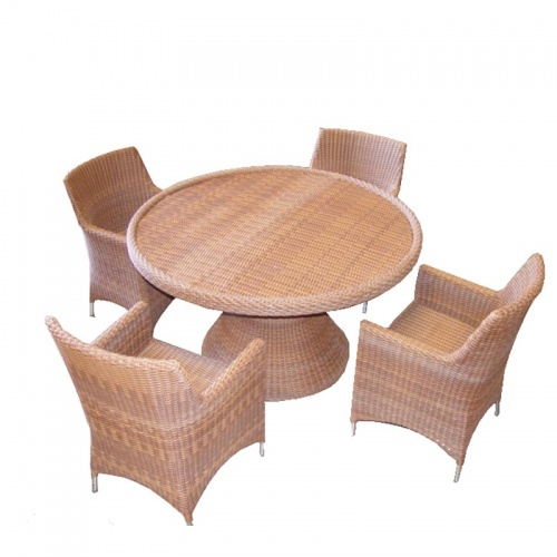 Rattan Armchair - Picture B