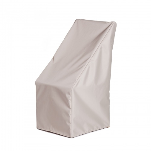 22.85 w x 27 d x 37.5 h Dining Chair Cover - Picture A