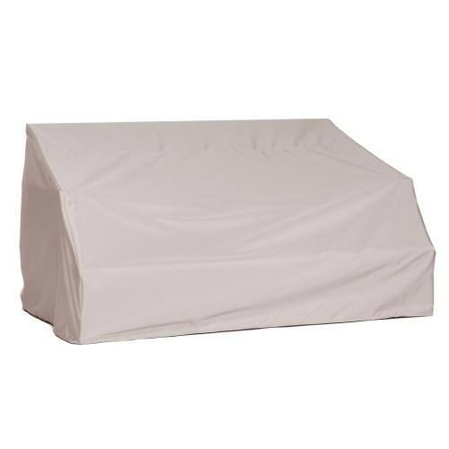 6 ft Veranda Teak Bench Cover - Picture A